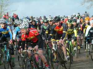 London Cyclo Cross Team Championships First Lap
