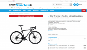 Wilier Motorised Bike