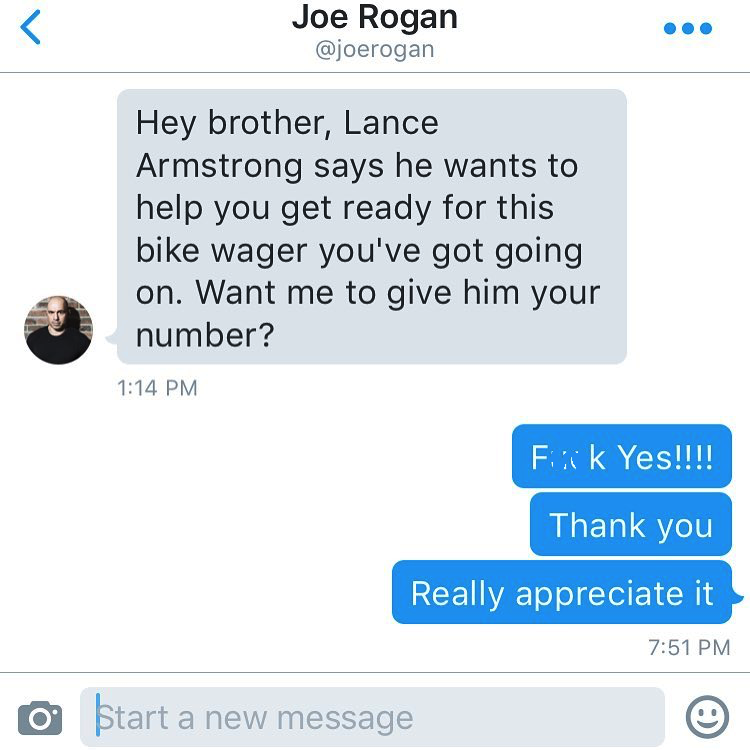 Lance Armstrong to Train Dan Bilzerian?