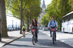 Embankment Hire Bikes