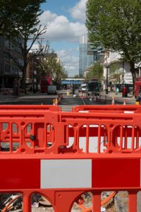Cycle Superhighway Construction Works