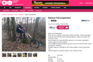 Full suspension Extra Forks advert