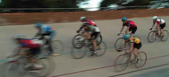 Herne Hill Track racing bunch