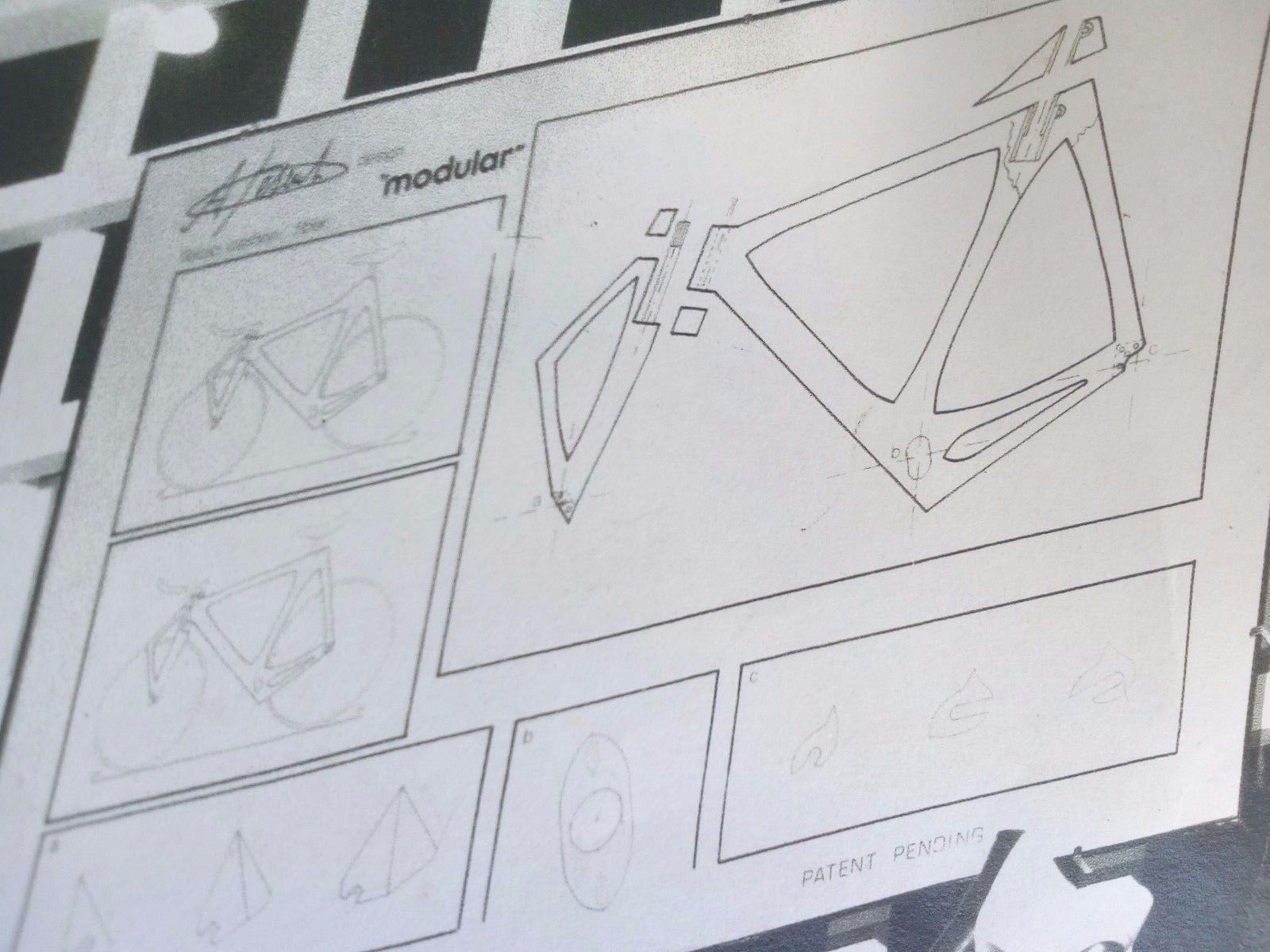 Pisenti Modular Uno Bike original designs