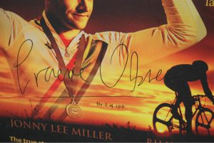 Obree Flying Scotsman Signed Poster copy