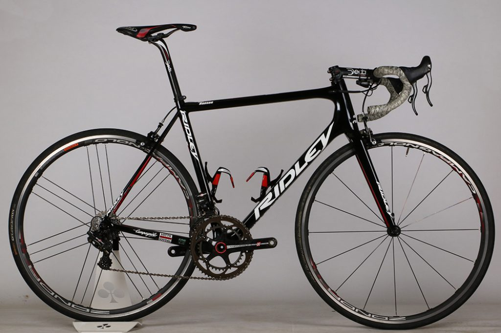 Adam hansen's Ridley Helium SLX Lotto Soudal Ex-Team Road Bike