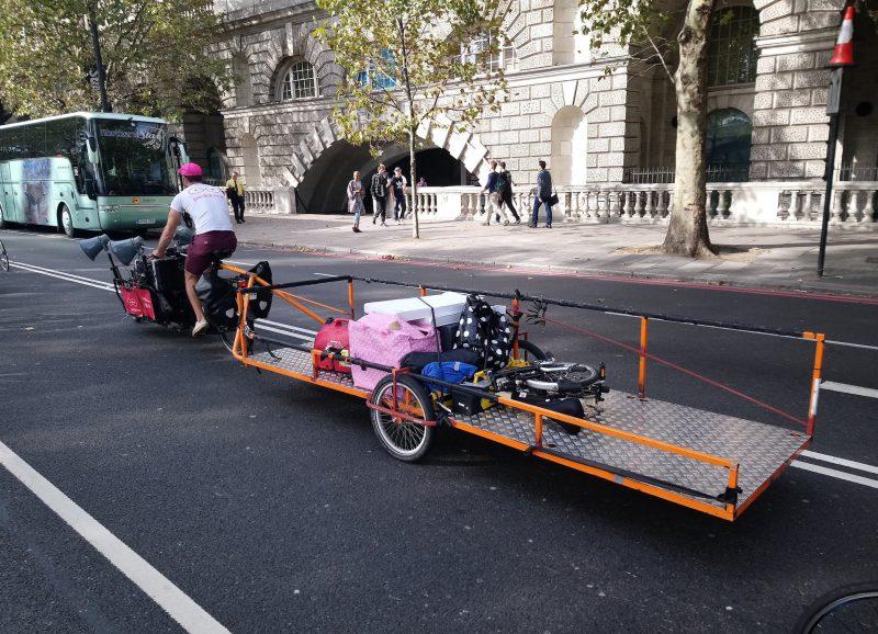 Pedal Me bike transporters