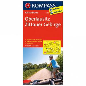 Kompass - Oberlausitz - Cycling map