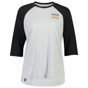 Mons Royale - Women's Tarn Freeride Raglan 3/4 - Cycling jersey