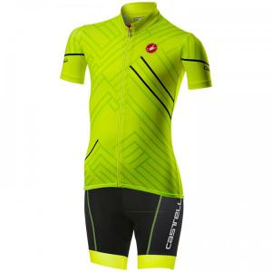 CASTELLI Campioncino Children's Kit (cycling jersey + cycling shorts) Kids Set (