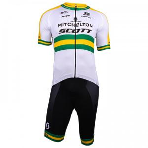 MITCHELTON - SCOTT Australian Champion 2018 Set (cycling jersey + cycling shorts