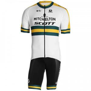 MITCHELTON - SCOTT Australian Champion 2019 Set (cycling jersey + cycling shorts