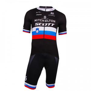 MITCHELTON - SCOTT Slovenian Champion 2018 Set (cycling jersey + cycling shorts)