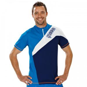 QLOOM Bramston Freeride Shirt blue-white for men