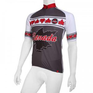 Sugoi jersey Canada grey-white-red Short Sleeve Jersey for men