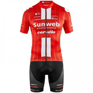 TEAM SUNWEB 2020 Set (cycling jersey + cycling shorts) for men