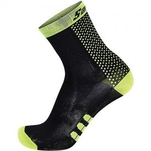 Santini Two Medium Profile Qskin Sock