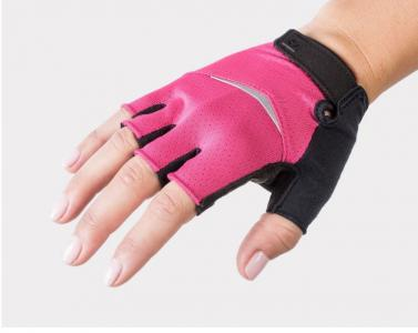 2020 Bontrager Anara Womens Cycling Gloves in pink