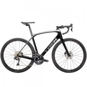 2020 Trek Domane SLR 7 Disc Carbon Road Bike in Black/Quicksilver