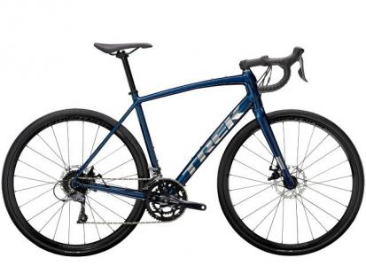 2021 Trek Domane AL 2 Disc Road bike in Gloss Mulsanne Blue/Matte Blac