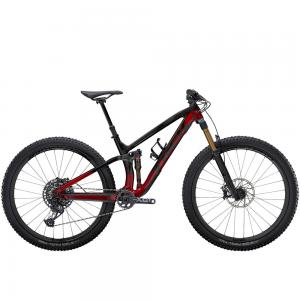 2021 Trek Fuel EX 9.9 XO1 Full Suspension Mountain Bike in Raw Carbon and Rage Red