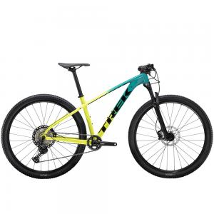 2021Trek X-Caliber 9 Hardtail Mountain Bike in Teal/Volt Fade