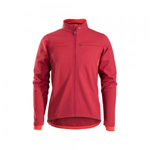 Bontrager Circuit Softshell Jacket Cobra Blood Red