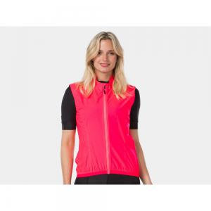 Bontrager Circuit Womens Windproof Cycling Gilet in Pink