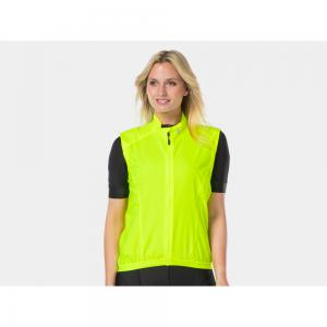 Bontrager Circuit Womens Windproof Cycling Gilet in Yellow