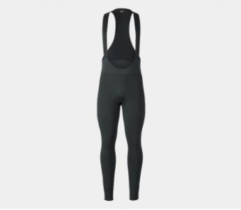 Bontrager Mens Circuit Thermal Cycling Bib Tights in Black