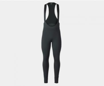 Bontrager Mens Circuit Thermal Unpadded Cycling Bib Tights in Black
