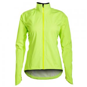 Bontrager Vella StormShell Womens Cycling Jacket Visibility Yellow