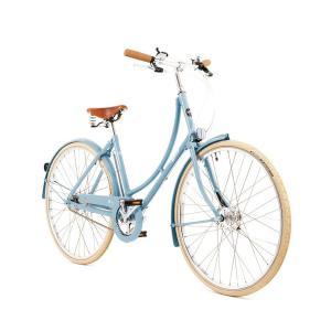 Pashley Poppy Traditional City Bike in Powder Blue