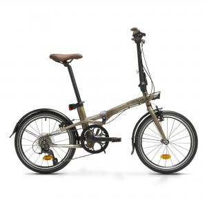 BTWIN Tilt 900 Folding Bike - Lacquered Aluminium