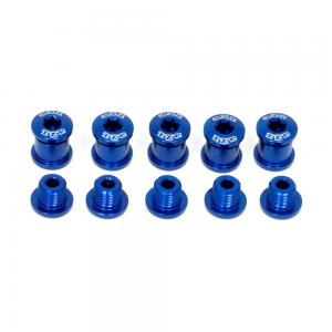 A2Z Chainring 5 Arm Bolt Kit In Blue