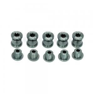 A2Z Chainring 5 Arm Bolt Kit In Grey