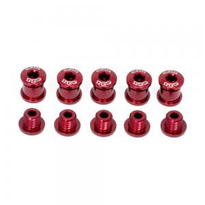 A2Z Chainring 5 Arm Bolt Kit In Red