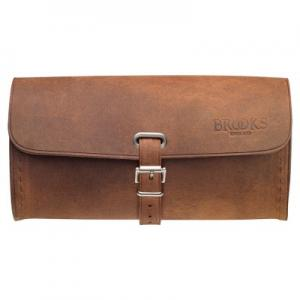 Brooks Challenge Large Saddle Bag in Brown