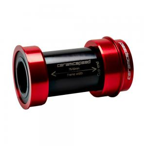 CeramicSpeed BBRight SRAM DUB Bottom Bracket In Red