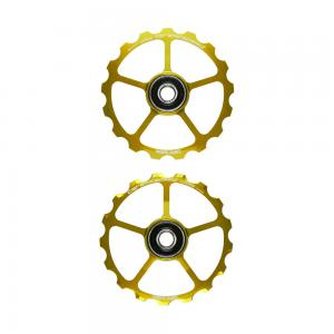 CeramicSpeed Coated No Cage 17T OSPW in Gold