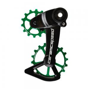 CeramicSpeed Coated SRAM Eagle AXS OSPW X System In Green