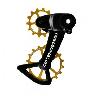 CeramicSpeed Coated SRAM Eagle Mechanical OSPW X System In Gold