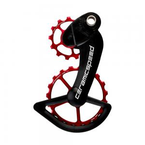CeramicSpeed OSPW Coated Campag System In Red