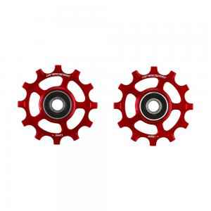 CeramicSpeed SRAM 12s AXS Road Coated Pulley Wheel In Red