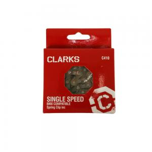 Clarks Single Speed Chain w/Spring Clip in Silver