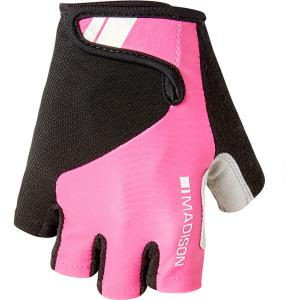 Madison Keirin Womens Mitts in Pink