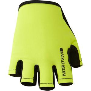 Madison Track Womens Mitts in Yellow