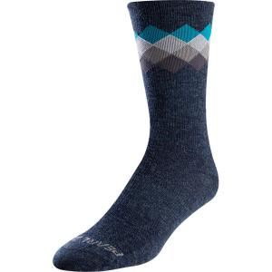Pearl Izumi Merino Wool Tall Socks in Blue