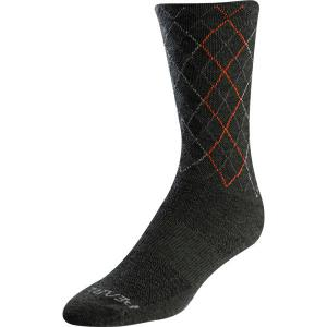 Pearl Izumi Merino Wool Tall Socks in Green
