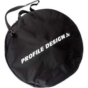 Profile Design Padded Wheel Bag in Black